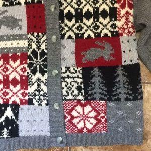 Eddie Bauer Sweaters - Eddie Bauer 100% Wool Cardigan Sweater Size Medium